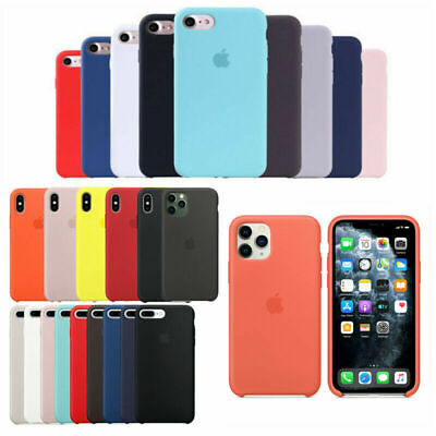 Originale Silicone Cover Per Apple iPhone 6 7 8 Plus X XR XS 11 Pro Max Custodie