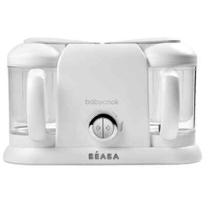Beaba 4-in-1 Baby Food Processor Babycook Duo 2200ml White Baby Food Mixer