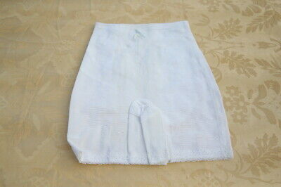 gaine panty vintage  blanche youthgraft taille S