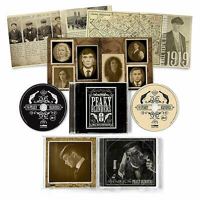 Peaky Blinders OST Series 1-5 (NEW 2 CD) Soundtrack IN STOCK