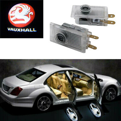 2X Vauxhall Mokka/Mokka-X Car Door Courtesy Led  Emblem Laser Light