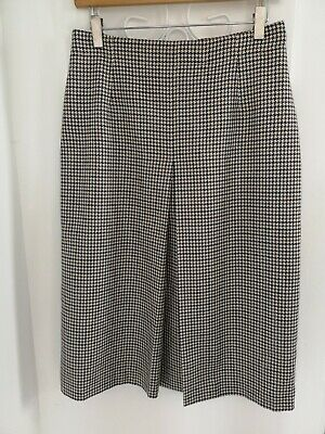 Immaculate vintage Aquascutum patterned plaid check skirt UK 10 12