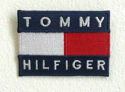 Tommy Hilfiger Fashion Brand Logo Iron On Sew On Embroidered Patch