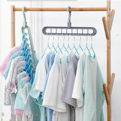 Rotate Anti Skid Folding Clothes Hanger Hooks Adult Hangers Clothes Saves Space