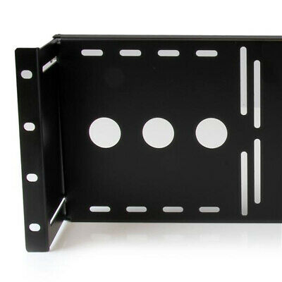 StarTech.com Universal VESA LCD Monitor Mounting Bracket for 19in Rack or Cabine