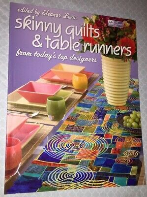 Skinny Quilts and Table Runners by Levie, Eleanor