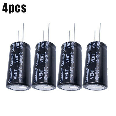 US Stock 2pc Electrolytic Capacitors 10000uF 10000mfd 35V 105℃ Radial 18 x 36mm