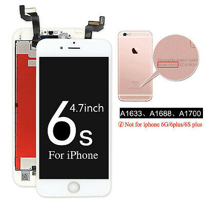 For iPhone 6s LCD Display Touch Screen Digitizer Replacement Assembly Black AAA+