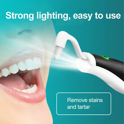 Electric Sonic Wave Vibrating Dental Scaler Teeth Stain Cleaner Whitening Tool