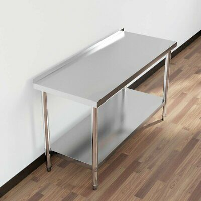 Stainless Steel Catering Table 2Ft X 4/5Ft Bench Kitchen Worktop Commercial Uk