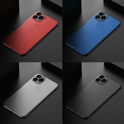 Ultra Thin Case For iPhone 11 Pro Max Xs X Slim Matte Hard Back Cover Skin