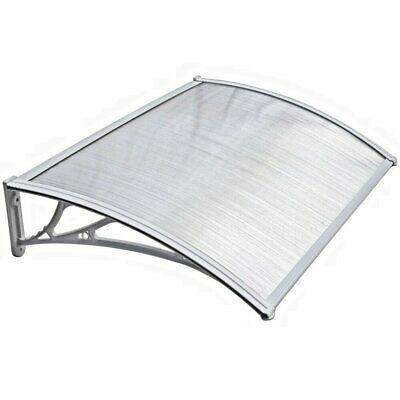 NEW White  Door Canopy Awning Shelter Front Back Porch Outdoor Shade Patio Roof
