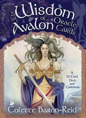 Wisdom Of Avalon Oracle Cards by Colette Baron-Reid 9781401910426 | Brand New