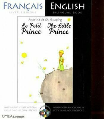 The Little Prince French/English bilingual edition with CD 9780956721594