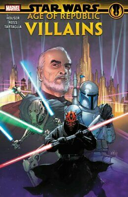 Star Wars: Age Of The Republic - Villains by Jody Houser 9781302917296