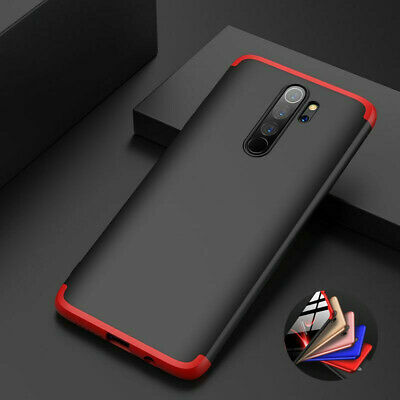 For Xiaomi Redmi Note 8 Pro Hybrid Armor 3in1 Full Cover Shockproof Hard PC Case