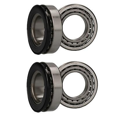 2 x Wheel Bearing Kit for Indespension Tow-a-Van Box Trailers Braked Single Axle