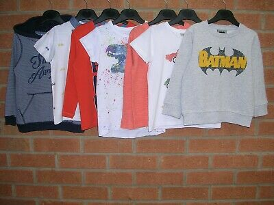 NEXT BLUEZOO H&M Boys Bundle Jumpers Shirts T-Shirts Tops Age 2-3 98cm