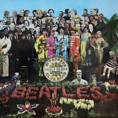 Sgt. Pepper's Lonely Hearts Club Band LP (UK 1973) : The Beatles
