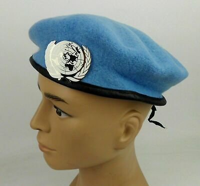 United Nations Peacekeeping Force Beret Military Hat