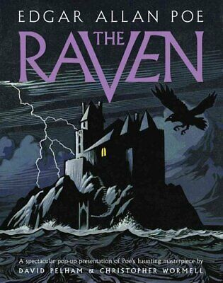 The Raven A Pop-up Book by Edgar Allan Poe 9781419721977 | Brand New