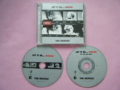 THE BEATLES DBL CD album + booklet LET IT BE ... NAKED 2003
