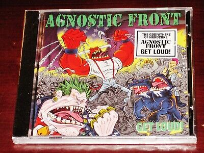 Agnostic Front: Get Loud 2019 Nuclear Blast Records USA NB 5200-2 Jewel Case NEW