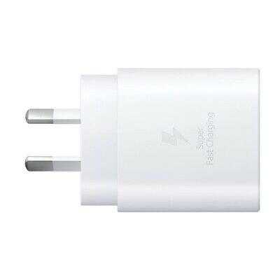 Samsung Fast Charge AC Charger- Type C  - 25W (A series) - white