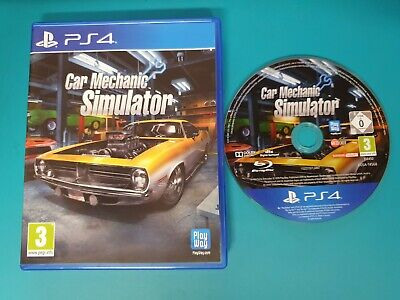 PS4 : car mechanic simulator