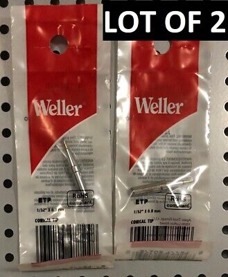 """Weller ETP Conical Soldering Tip 0.8 mm//0.031/"""" *** FREE SHIPPING***"""