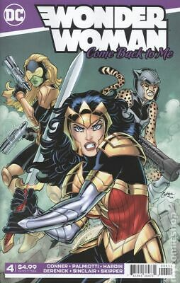 Wonder Woman Come Back To Me #4 Conner Variant VF 2019 Stock Image