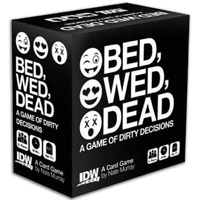 Bed Wed Dead Card Board Game Funny  Dirty Decisions Friend Party New Nate Murray