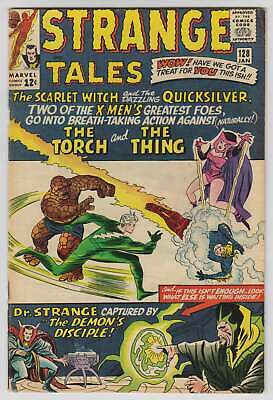 L8865: Strange Tales #128, Vol 1, F VF Condition