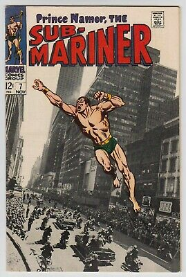 L9275: Sub-Mariner #7, Vol 1, VF Condition