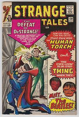 L7543: Strange Tales #130, Vol 1, VG/F Condition