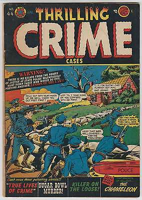 L1585: Thrilling Crime Cases #44, F-F+ Condition