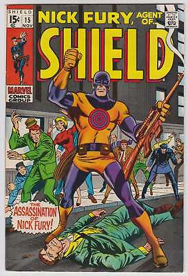 L4604: Nick Fury #15, Vol 1, VF Condition