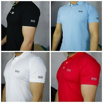 New Hugo Boss New Unisex Slim Fit Short Sleeve Shirt Comes With Tags 100% Cotton