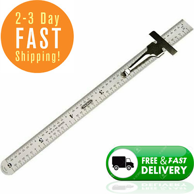 General Tools 300/1 6-Inch Flex Precision Stainless Steel Rule