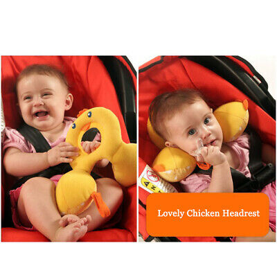 Super Soft Infant Carseat Head Support Pillow U Shape Sleep Neck Relief