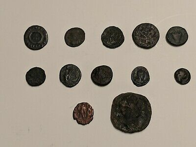 Lot Of Random Assorted Ancient Roman Coins (Constantine et Al.) Roman Imperial