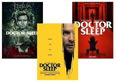 Stephen King: Doctor Sleep, The Shining  A5 A4 A3 Movie Posters Dr