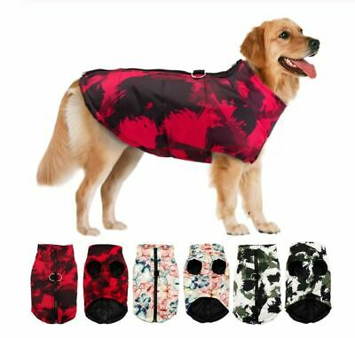 2019 NEW Winter Pet Dog Puppy Clothes Warm Jacket Coat Waterproof Sweater Outfit
