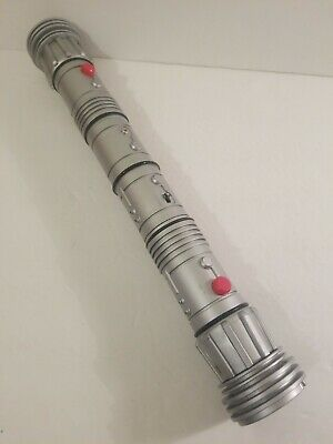 STAR WARS Light Saber DOUBLE RED DARTH MAUL SITH LORD Lightsaber LUCASFILM LTD