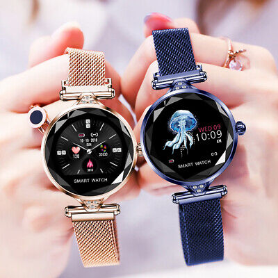 Smart Watch Fitness Activity Tracker Women Ladys Fitbit Android iOS Heart Rate