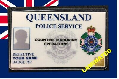 Australia ID COLLECTOR CARDS <<QUEENSLAND POLICE>>