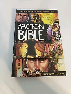 The Action Bible : God's Redemptive Story (Hardcover) Signed By Sergio Cariello