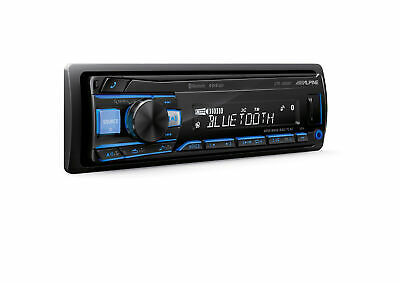 Alpine UTE-200BT Autoradio USB AUX Bluetooth® variable Farben KFZ Audiostreaming