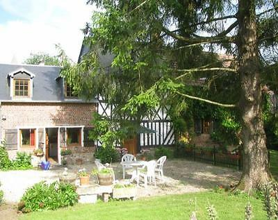 SELF-CATERING HOLIDAY COTTAGE,NORMANDY, FRANCE SPRING 2020: 18 April - 25 April
