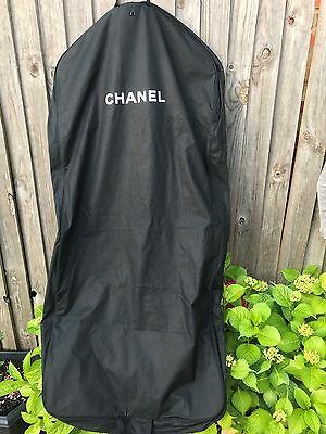 CHANEL dress /garment bag/protector/travel bag ,black canvas/waterproof
